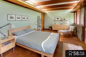 山间的别墅田园风格卧室装修效果图