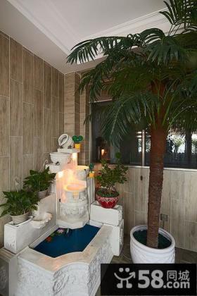 家居鱼池阳台设计案例