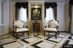 欧式复式楼室内过道装修设计