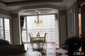 欧式风格餐厅吊顶装潢效果图