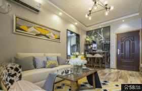 时尚现代风格一室一厅户型装修效果图大全