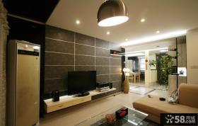 现代优质客厅电视背景墙效果图大全