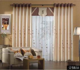 简欧设计窗帘效果图大全