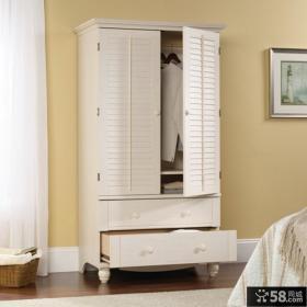 白色卧室衣柜
