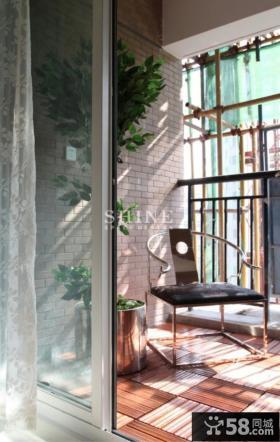 室内阳台隔断设计效果图
