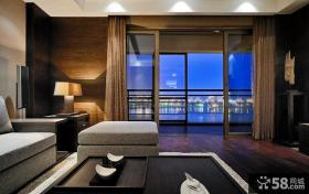现代风格客厅阳台装修效果图