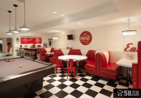 现代风格休闲餐厅设计效果图