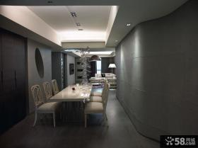 日式风格时尚餐厅装修效果图大全