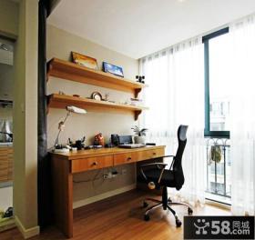 家装书房阳台设计图片