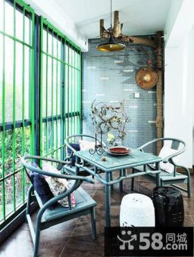 家庭设计装修阳台图片大全