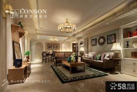 美式风格样板房室内装修效果图