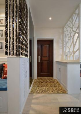 简约现代室内玄关装饰效果图
