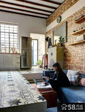 清新田园风格复式家居设计