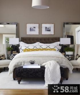 两房一厅温馨的卧室装修效果图大全2012图片
