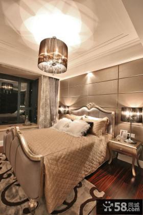 欧式新古典风格时尚卧室装修图片