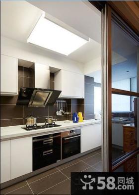 厨房移门隔断设计