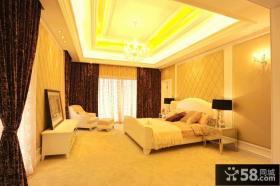欧式风格混搭别墅卧室设计效果图
