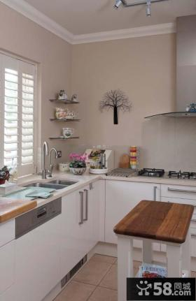 欧式厨房装饰效果图大全2013图片