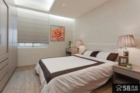 白色简约主人卧室装修图片