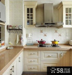 家居厨房欧式橱柜效果图欣赏
