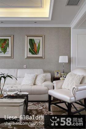 2013欧式客厅沙发背景墙效果图