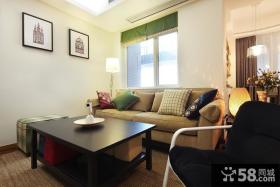 温馨现代客厅居家装修案例
