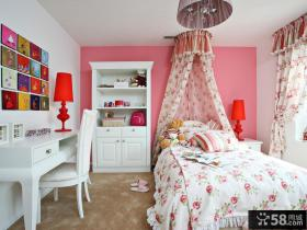 欧式风格小户型女生卧室效果图