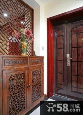 古典中式玄关装饰装潢