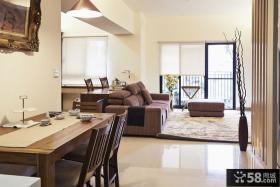 日式简约两室两厅装修效果图