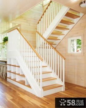 家装时尚复式楼梯设计图片