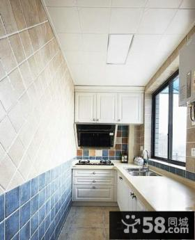 地中海风格装修厨房图片大全