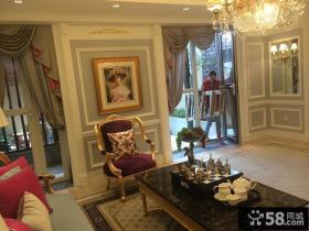 豪华欧式风格客厅装修效果图欣赏大全