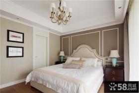 欧式8平米样板间卧室设计