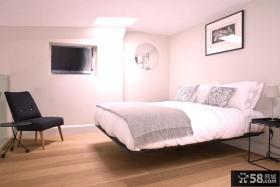 50平米小户型简约卧室装修效果图