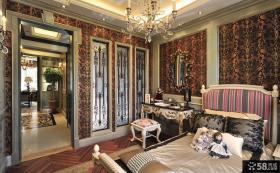 欧式复古设计卧室图片欣赏