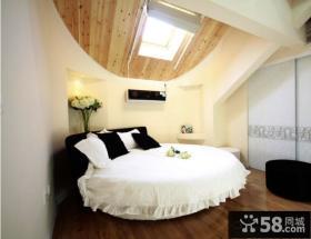 复式阁楼卧室装修效果图大全