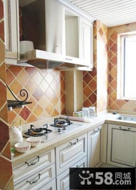 家居厨房墙砖颜色效果图