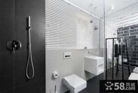 简约风格浴室装潢效果图