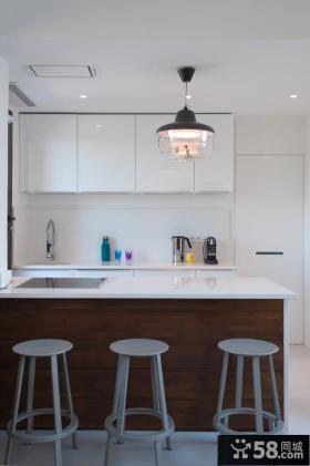 家庭开放式厨房设计装潢
