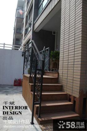 室外踏步楼梯设计
