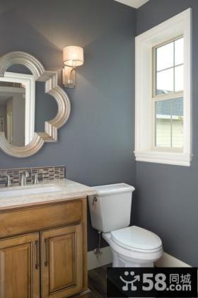 地中海风格小复式厕所装修效果图