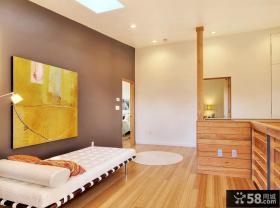 现代风格小卧室背景墙装修效果图大全2012图片