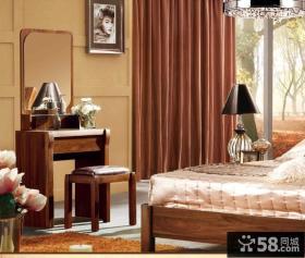 美式实木梳妆台效果图欣赏