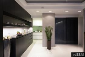 现代家庭厨房装修设计图片