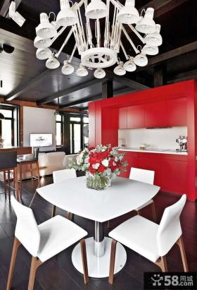 美式风格家居餐厅装修图片欣赏