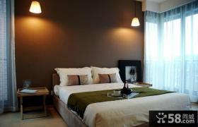 170万打造宜家中式风格卧室窗帘装修效果图大全2012图片