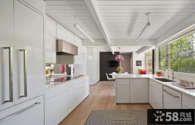 简约大空间厨房装修设计