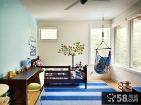 家装设计室内儿童房效果图欣赏大全2014