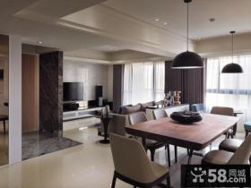 现代风格四居室装修图片欣赏大全