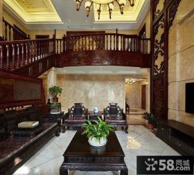 豪华古典中式客厅设计装饰
